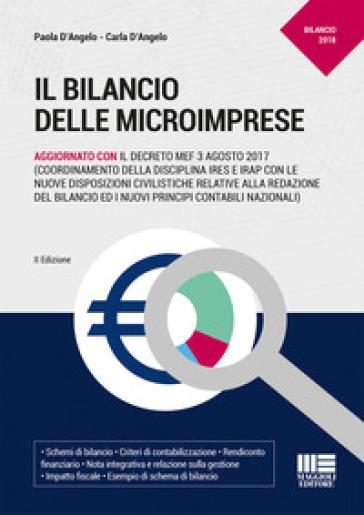 Il bilancio delle microimprese - Paola D'Angelo |