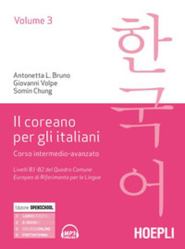 Il coreano per italiani. 3. - Antonetta Lucia Bruno |