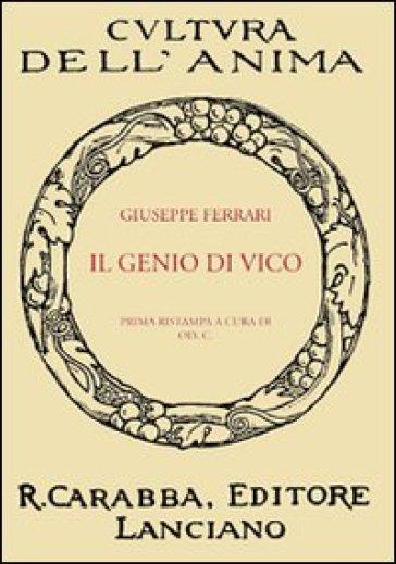 Il genio di Vico - Giuseppe Ferrari |