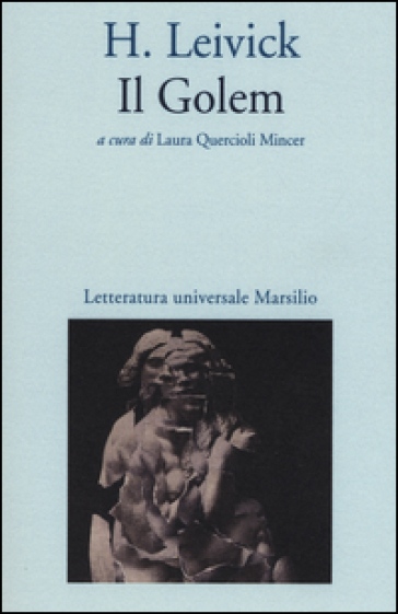 Il golem - H. Leivick | Jonathanterrington.com