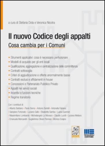 Il nuovo codice degli appalti - Stefania Dota pdf epub