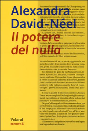 Il potere del nulla - Alexandra David-Néel   Kritjur.org