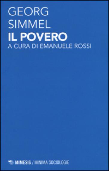 Il povero - Georg Simmel pdf epub