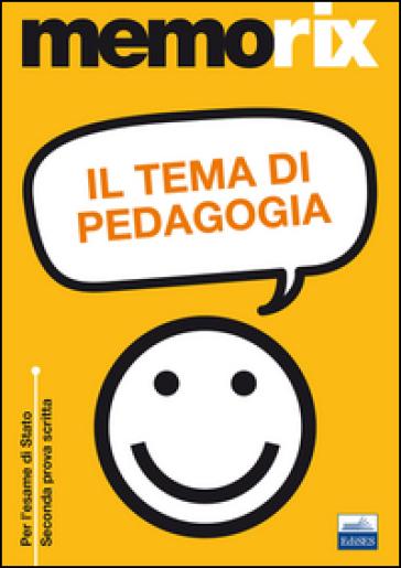 Il tema di pedagogia - Giulia Branco |