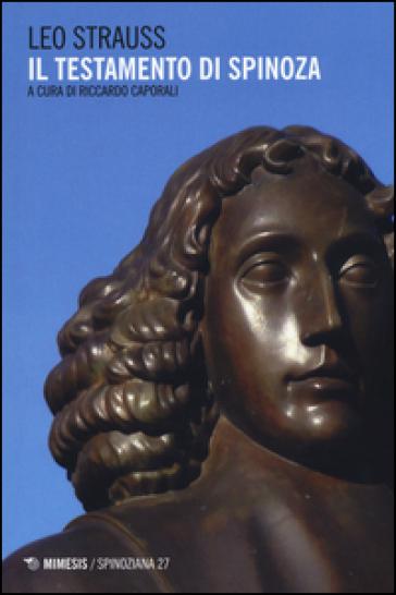 Il testamento di Spinoza - Leo Strauss   Rochesterscifianimecon.com
