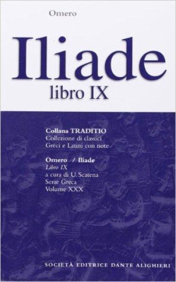 Iliade. Libro 9º - Omero   Kritjur.org