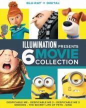Illumination Presents: 6-Movie Collection (6 Blu-Ray) [Edizione: Stati Uniti]
