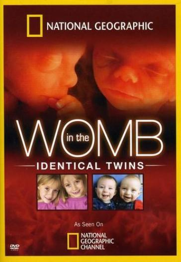 In the womb:identical twins
