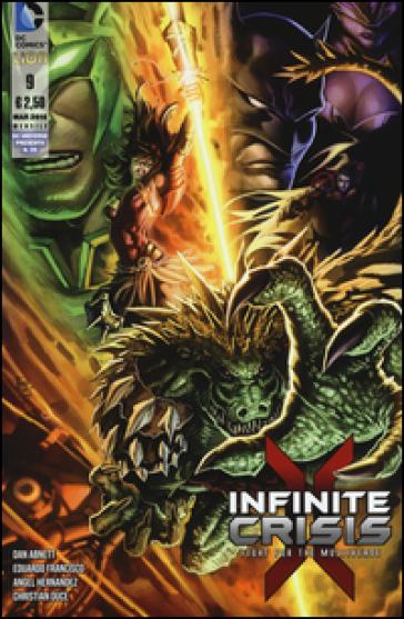 Infinite crisis. Fight for multiverse. 9. - Dan Abnett  