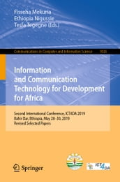 Information and Communication Technology for Development for Africa