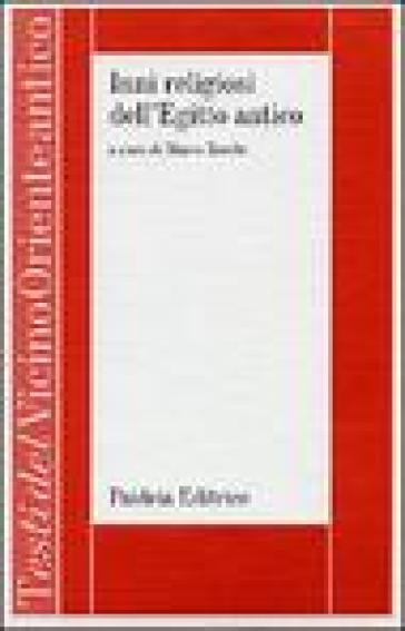 Inni religiosi dell'Egitto antico - M. Zecchi pdf epub