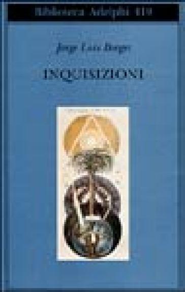 Inquisizioni - Jorge Luis Borges pdf epub