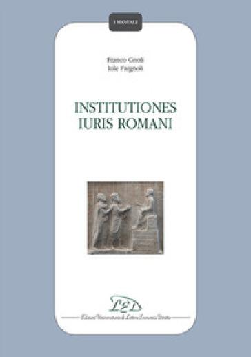 Institutiones iuris romani - Franco Gnoli   Rochesterscifianimecon.com