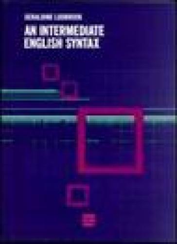 Intermediate english syntax (An) - Geraldine Ludbrook pdf epub