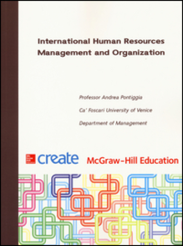 International Human Resources Management and Organization