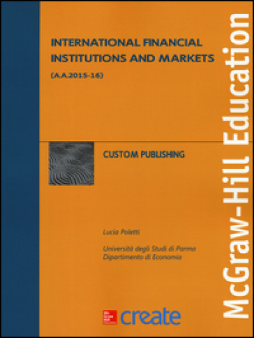 International financial institutions and markets