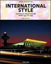 International style. Modernist architecture from 1925 to 1965