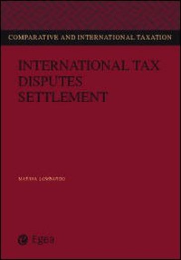 International tax disputes settlement