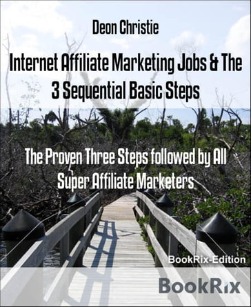 Internet Affiliate Marketing Jobs & The 3 Sequential Basic Steps