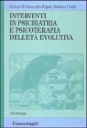 Interventi in psichiatria e psicoterapia dell