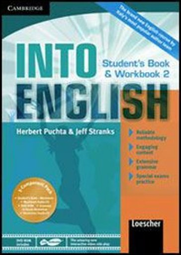 Into english. Student's book-Workbook-Maximiser. Per le Scuole superiori. Con CD Audio. Con DVD-ROM. Con espansione online. 2.