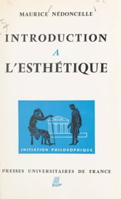 Introduction à l esthétique