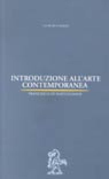 Introduzione all'arte contemporanea