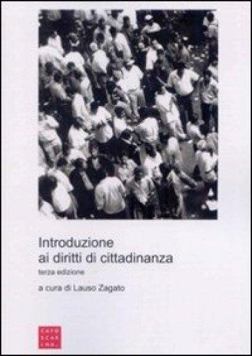 Introduzione ai diritti di cittadinanza - L. Zagato |