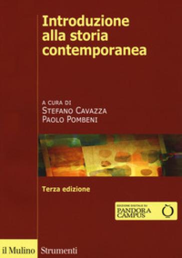 Introduzione alla storia contemporanea - S. Cavazza  