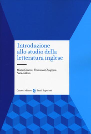 Introduzione allo studio della letteratura inglese - Marco Canani | Jonathanterrington.com