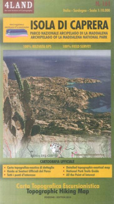 Isola di Caprera. Parco Nazionale Arcipela di La Maddalena-Archipelago of La Maddalena National Park 1:10.000. Ediz. bilingue - Enrico Casolari |