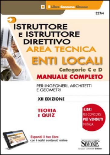 Istruttore e istruttore direttivo area tecnica enti for Architetti on line gratis
