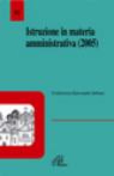 Istruzione in materia amministrativa (2005) - Conferenza episcopale italiana |