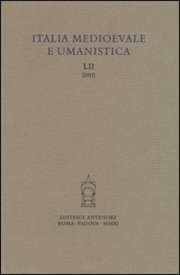 Italia medioevale e umanistica. 52.
