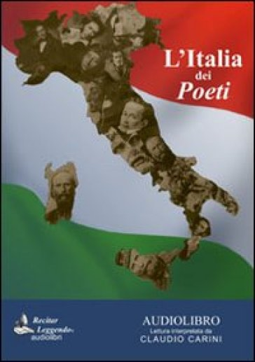 L'Italia dei poeti. Audiolibro. CD Audio