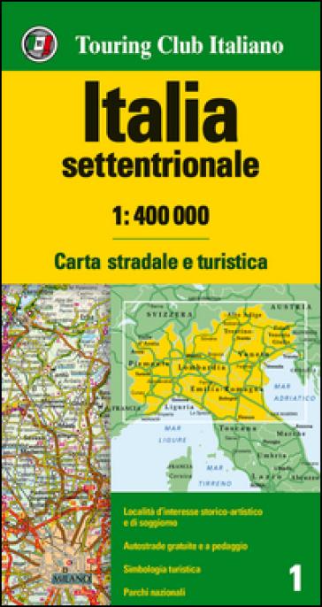 Italia settentrionale 1:400.000. Carta stradale e turistica -  pdf epub