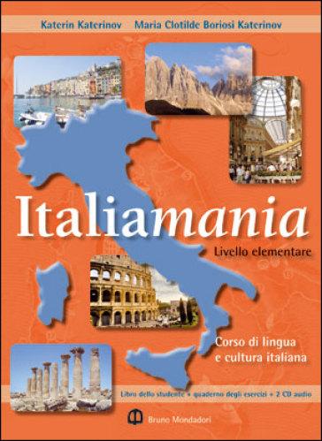 Italiamania. Corso di lingua e cultura italiana. Livello elementare. DVD - Katerin Katerinov   Rochesterscifianimecon.com