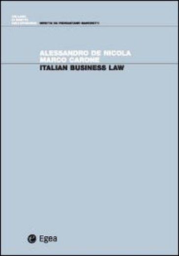 Italian business law - Marco Carone   Thecosgala.com