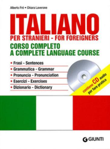 Italiano. Corso completo. Con CD Audio - Alberto Fré | Thecosgala.com