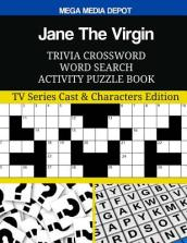 Jane the Virgin Trivia Crossword Word Search Activity Puzzle Book