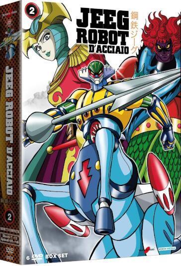 Jeeg robot dacciaio box 02 episodi 25 46 6 dvd booklet