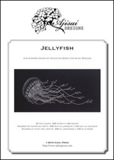 Jellyfish. Blackwork design. Ediz. italiana, inglese e francese - Valentina Sardu |
