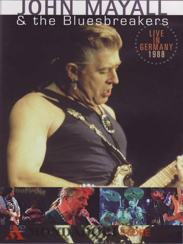 John Mayall & The Bluesbreakers - Live In Germany 1988 (DVD)