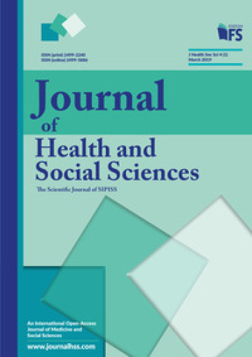 Journal of health and social sciences (2019). 1: March