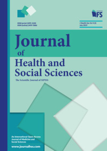 Journal of health and social sciences (2019). 2: July