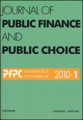 Journal of public finance and public choice (2010). 1.