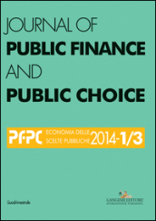 Journal of public finance and public choice (2014) vol. 1-3