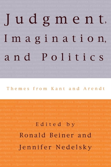 Judgment, Imagination, and Politics