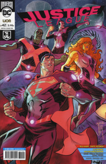 Justice League. 42. - A. Antonini |