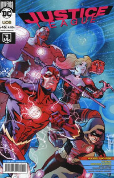 Justice League. 45. - A. Antonini | Jonathanterrington.com
